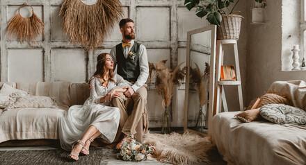 Предсвадебная фотосессия Love story и свадебный фотоальбом в подарок