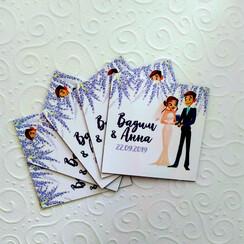 BestMagnets - магнитики-подарки гостям на свадьбе - свадебные аксессуары в Полтаве - фото 3