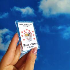 BestMagnets - магнитики-подарки гостям на свадьбе - свадебные аксессуары в Полтаве - фото 1