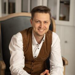 Виталий Антюшин - ведущий в Киеве - фото 1