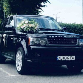 RANGE ROVER - авто на свадьбу в Виннице - портфолио 2