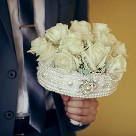 Декоратор, флорист Каркасы из жемчуга для свадебного букета