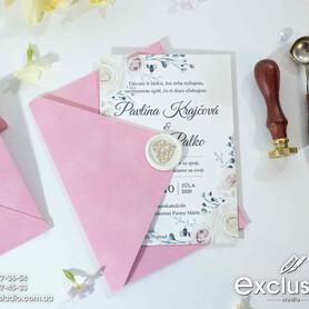 Запрошення на весілля Exclusive - пригласительные на свадьбу в Львове - портфолио 1
