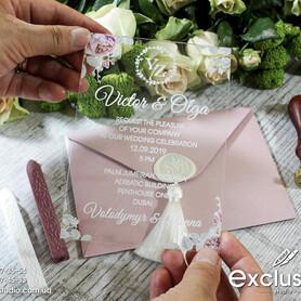 Запрошення на весілля Exclusive - пригласительные на свадьбу в Львове - портфолио 4