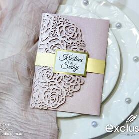 Запрошення на весілля Exclusive - пригласительные на свадьбу в Львове - портфолио 2