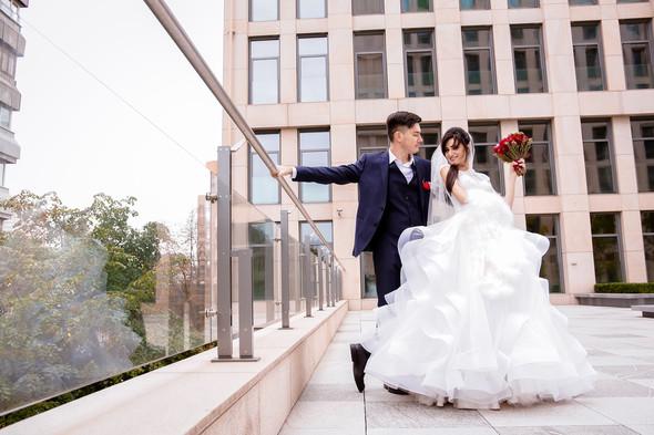 7.10 wedding day) - фото №45