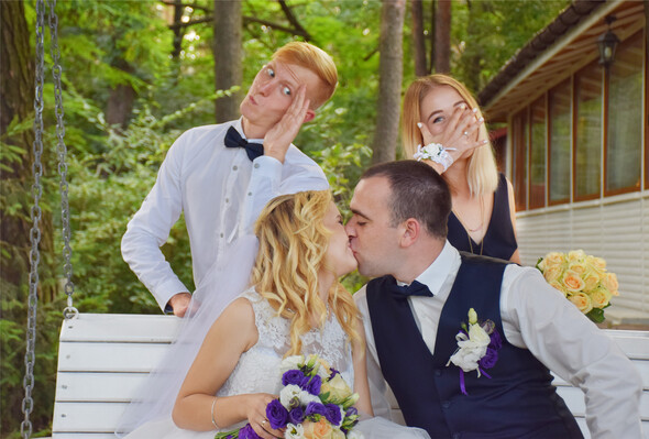 Свадьба весельчаков - фото №10