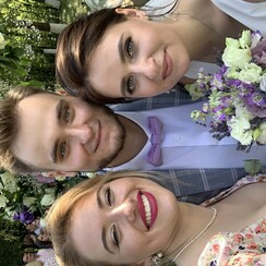 Александра Шевелёва - выездная церемония в Киеве - фото 3