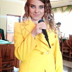 Марина Кузнецова - ведущий в Красном Луче - фото 1