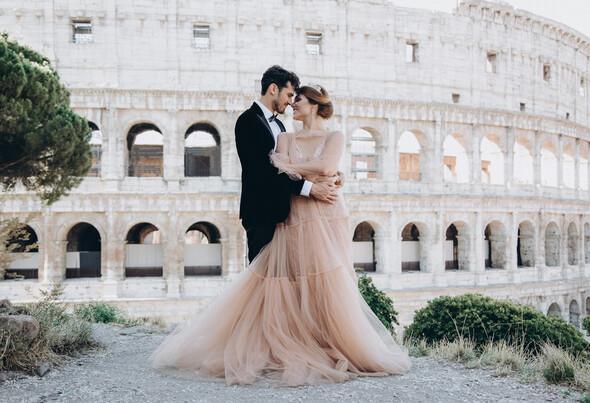 ILANIYA & CARLOS WEDDING IN ITALY - фото №20