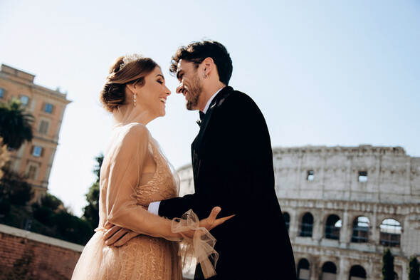 ILANIYA & CARLOS WEDDING IN ITALY - фото №18