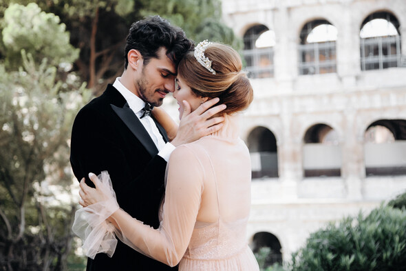ILANIYA & CARLOS WEDDING IN ITALY - фото №19