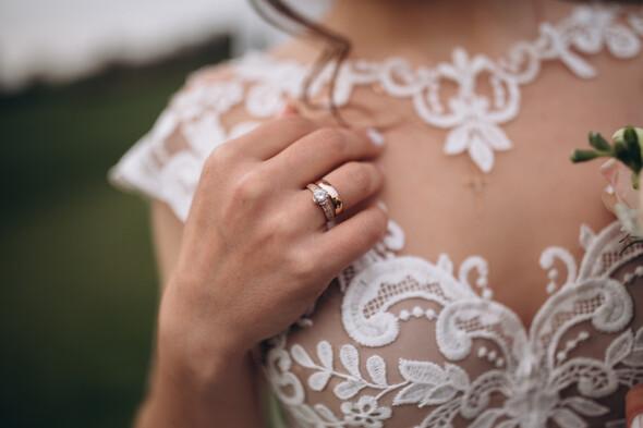 Свадебная фотосессия в Межигорье - фото №10
