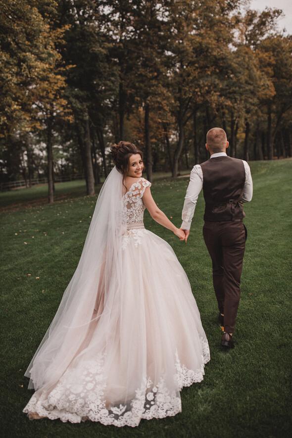 Свадебная фотосессия в Межигорье - фото №5