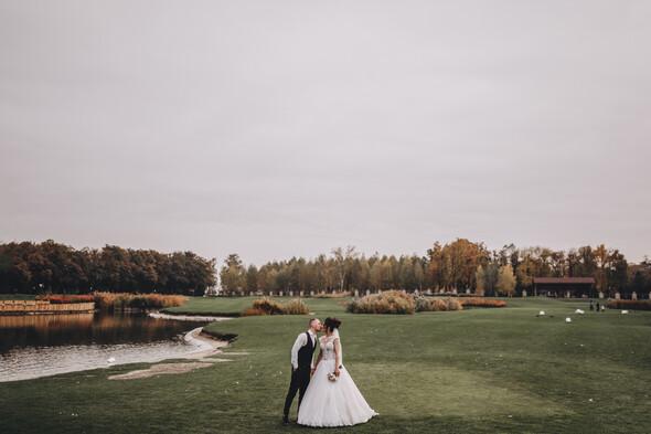 Свадебная фотосессия в Межигорье - фото №11