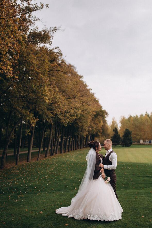 Свадебная фотосессия в Межигорье - фото №4