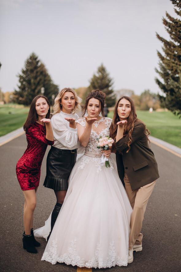 Свадебная фотосессия в Межигорье - фото №2