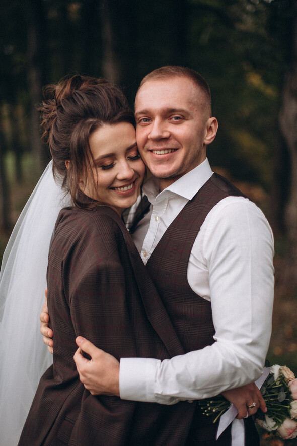 Свадебная фотосессия в Межигорье - фото №6