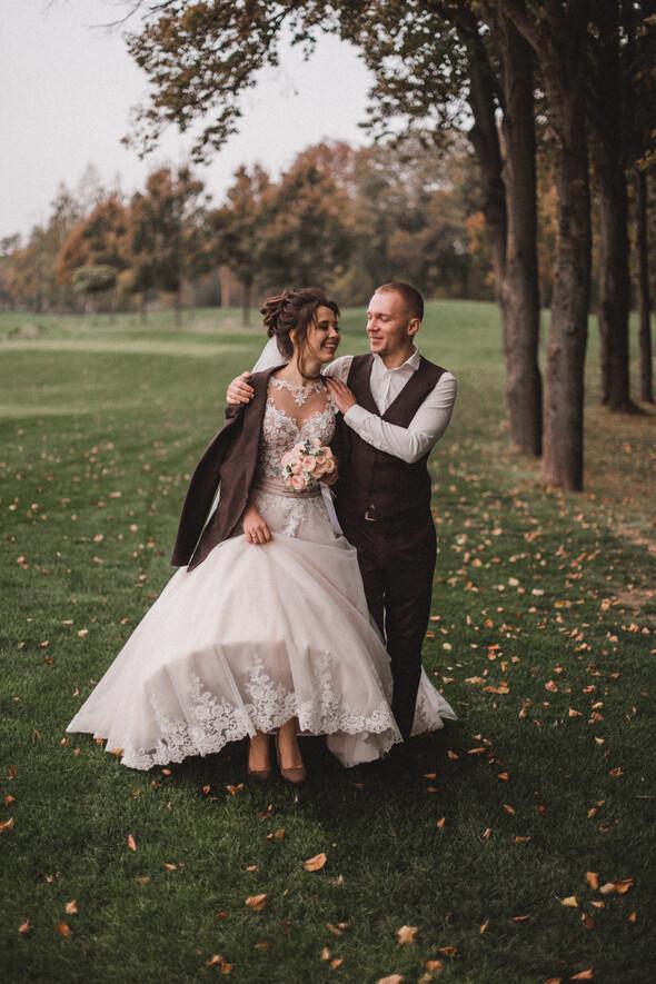 Свадебная фотосессия в Межигорье - фото №7