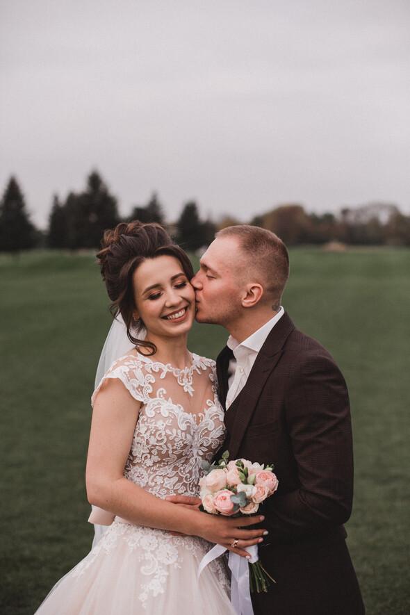 Свадебная фотосессия в Межигорье - фото №12