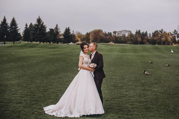 Свадебная фотосессия в Межигорье - фото №14