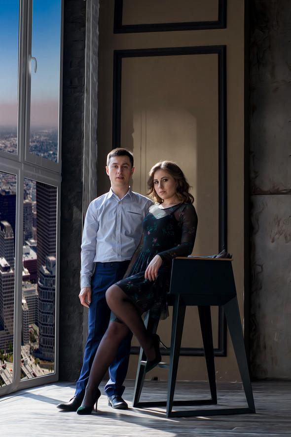 Love story | Женя + Сергей - фото №15