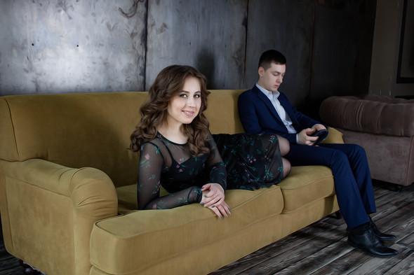 Love story | Женя + Сергей - фото №5