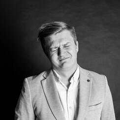 Егор Курочкин - ведущий в Харькове - фото 1