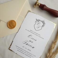 VILLEYA - пригласительные на свадьбу в Виннице - фото 4