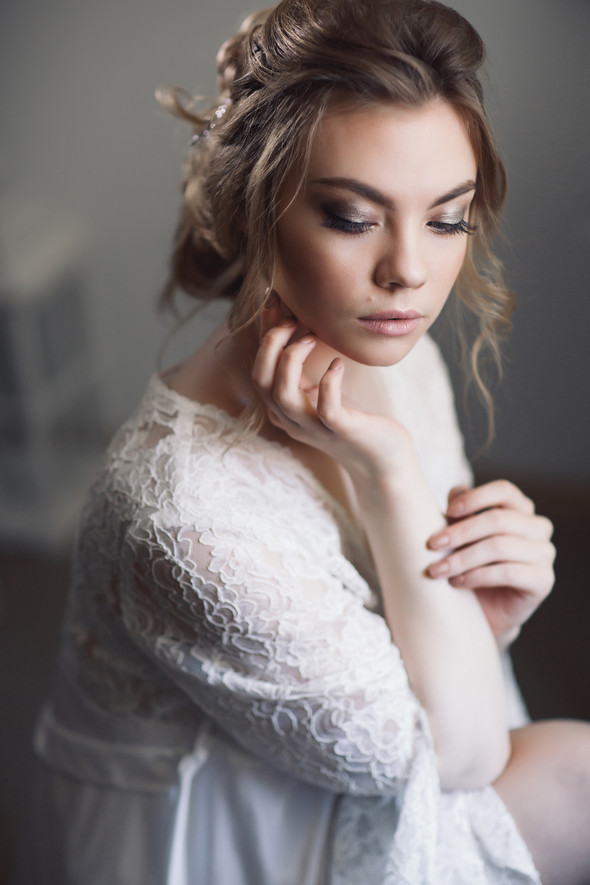 Сборы утра невесты - фото №9