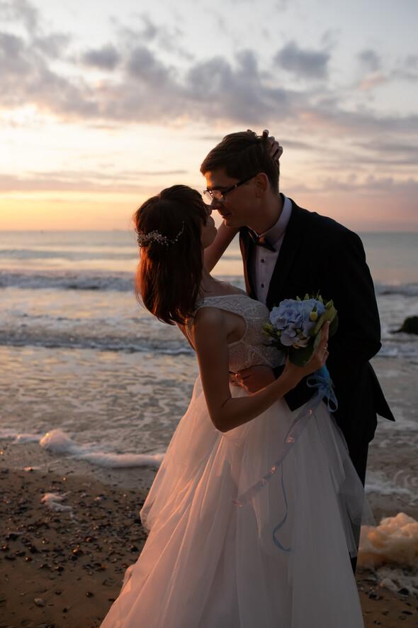 Свадьба на рассвете и венчание - фото №3