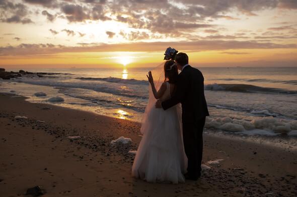 Свадьба на рассвете и венчание - фото №2