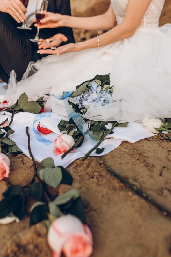 Свадьба на рассвете и венчание - фото №4