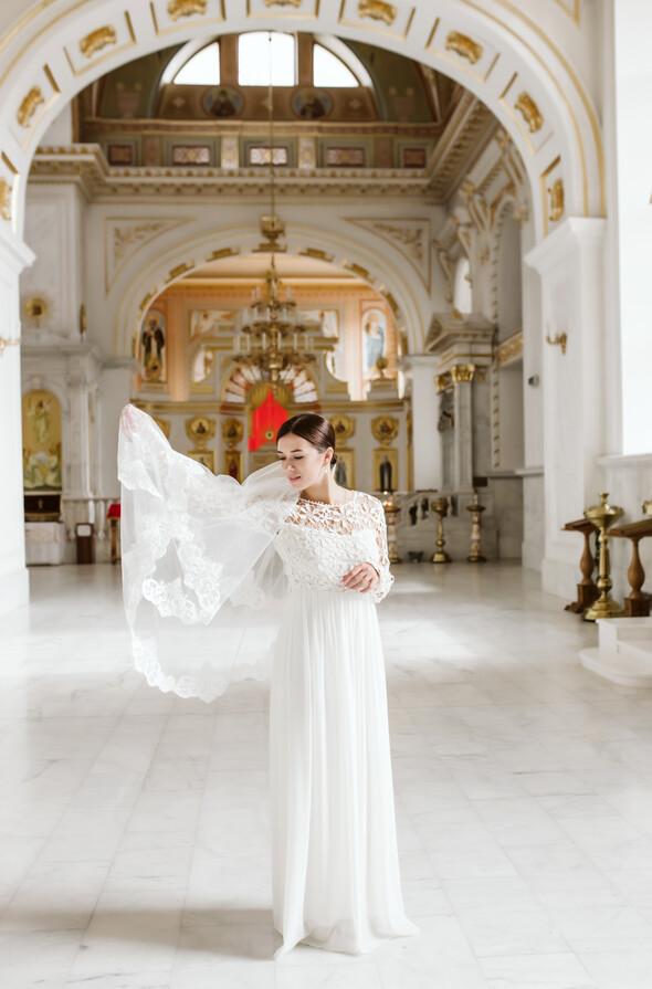 Свадьба на рассвете и венчание - фото №8