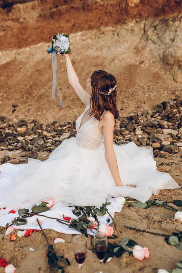 Свадьба на рассвете и венчание - фото №6