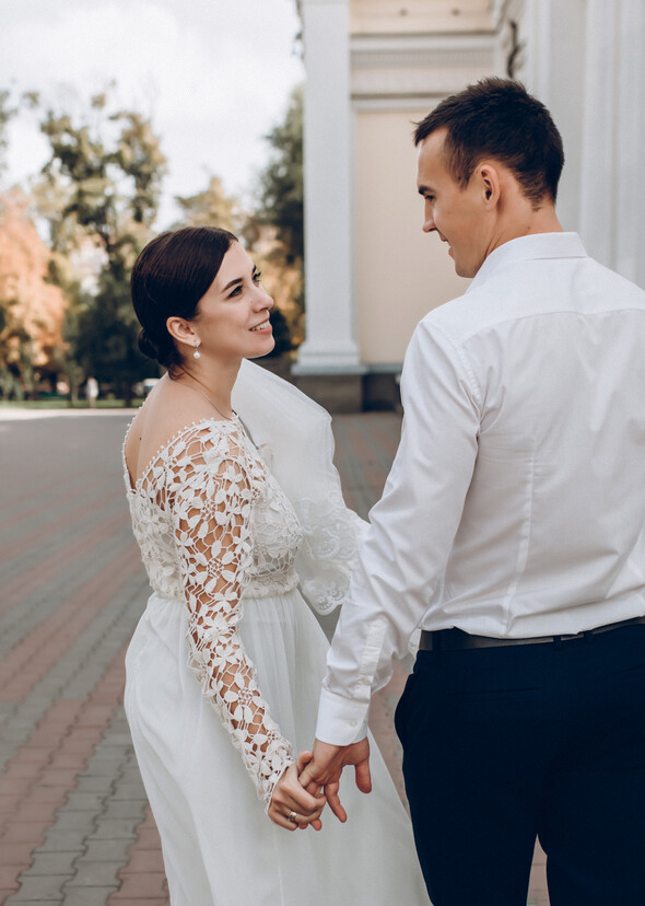 Свадьба на рассвете и венчание - фото №11