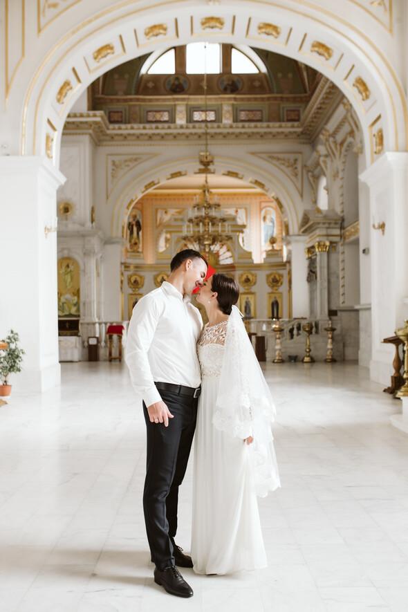 Свадьба на рассвете и венчание - фото №9