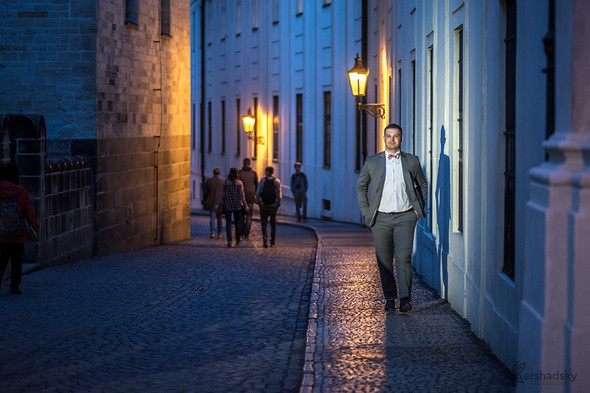 Ночная прогулка по Праге - фото №10