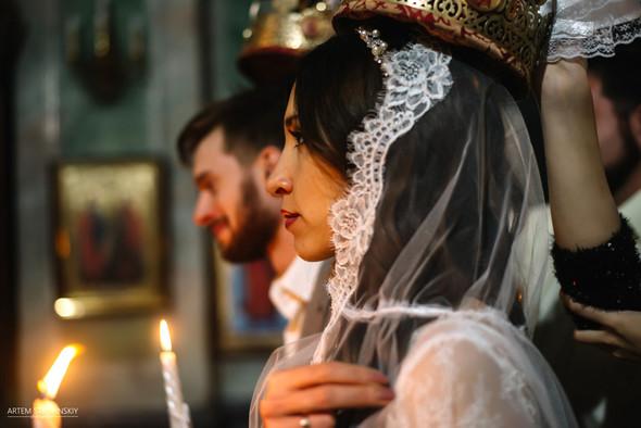 Венчание Сергея и Вики - фото №13