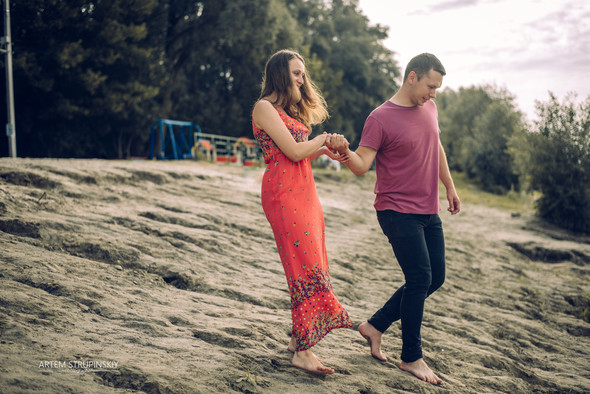Love Story Димы и Лены - фото №5