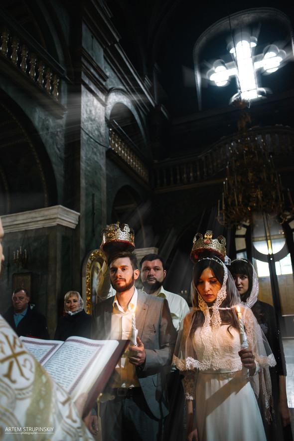 Венчание Сергея и Вики - фото №2