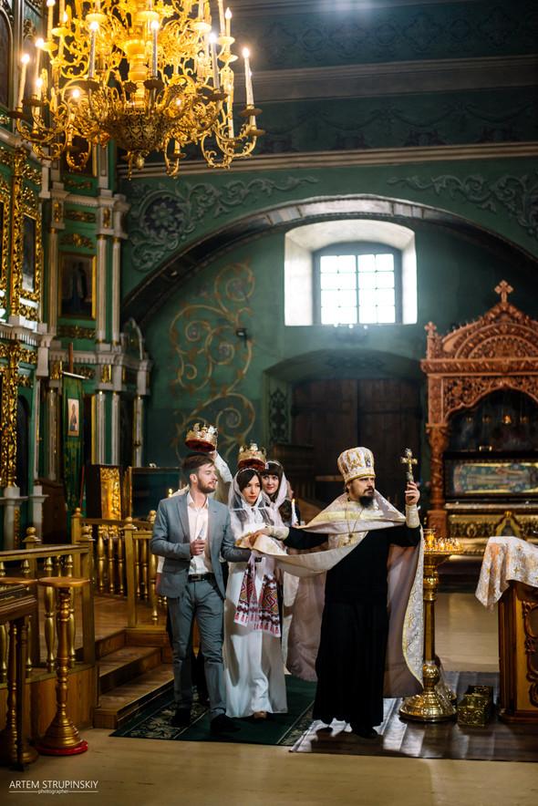 Венчание Сергея и Вики - фото №18