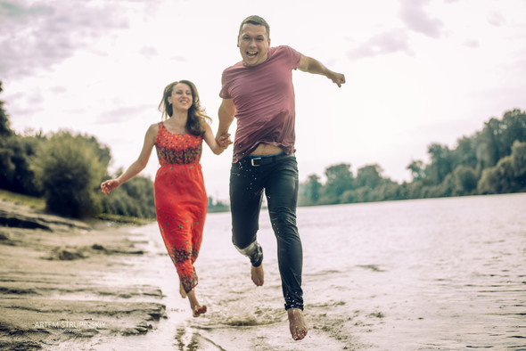 Love Story Димы и Лены - фото №19