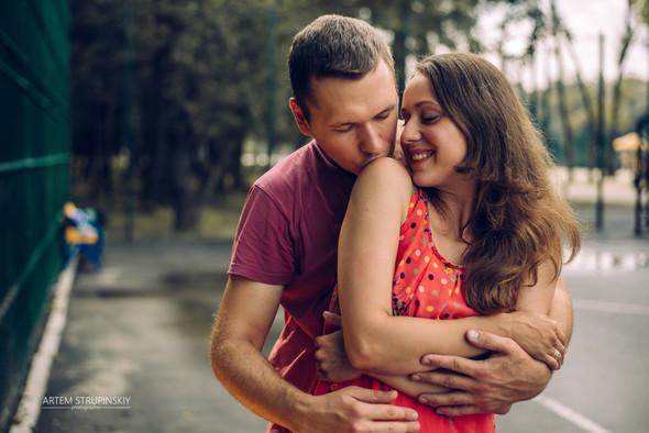 Love Story Димы и Лены - фото №6
