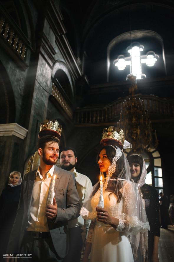 Венчание Сергея и Вики - фото №12