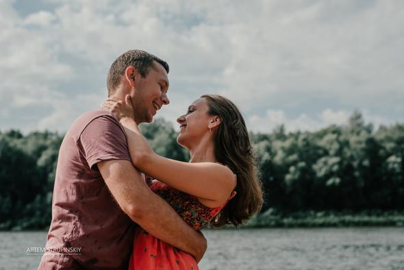 Love Story Димы и Лены - фото №24
