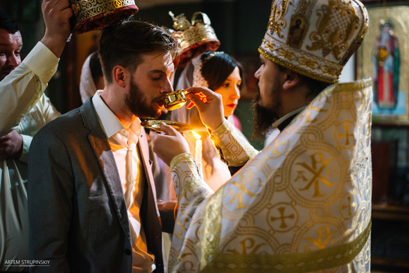 Венчание Сергея и Вики - фото №16