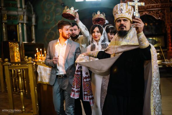 Венчание Сергея и Вики - фото №17