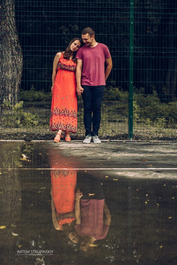 Love Story Димы и Лены - фото №33