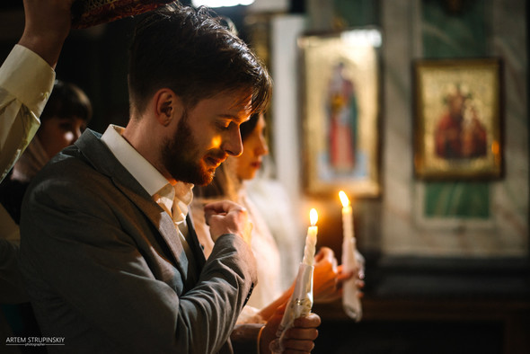 Венчание Сергея и Вики - фото №15